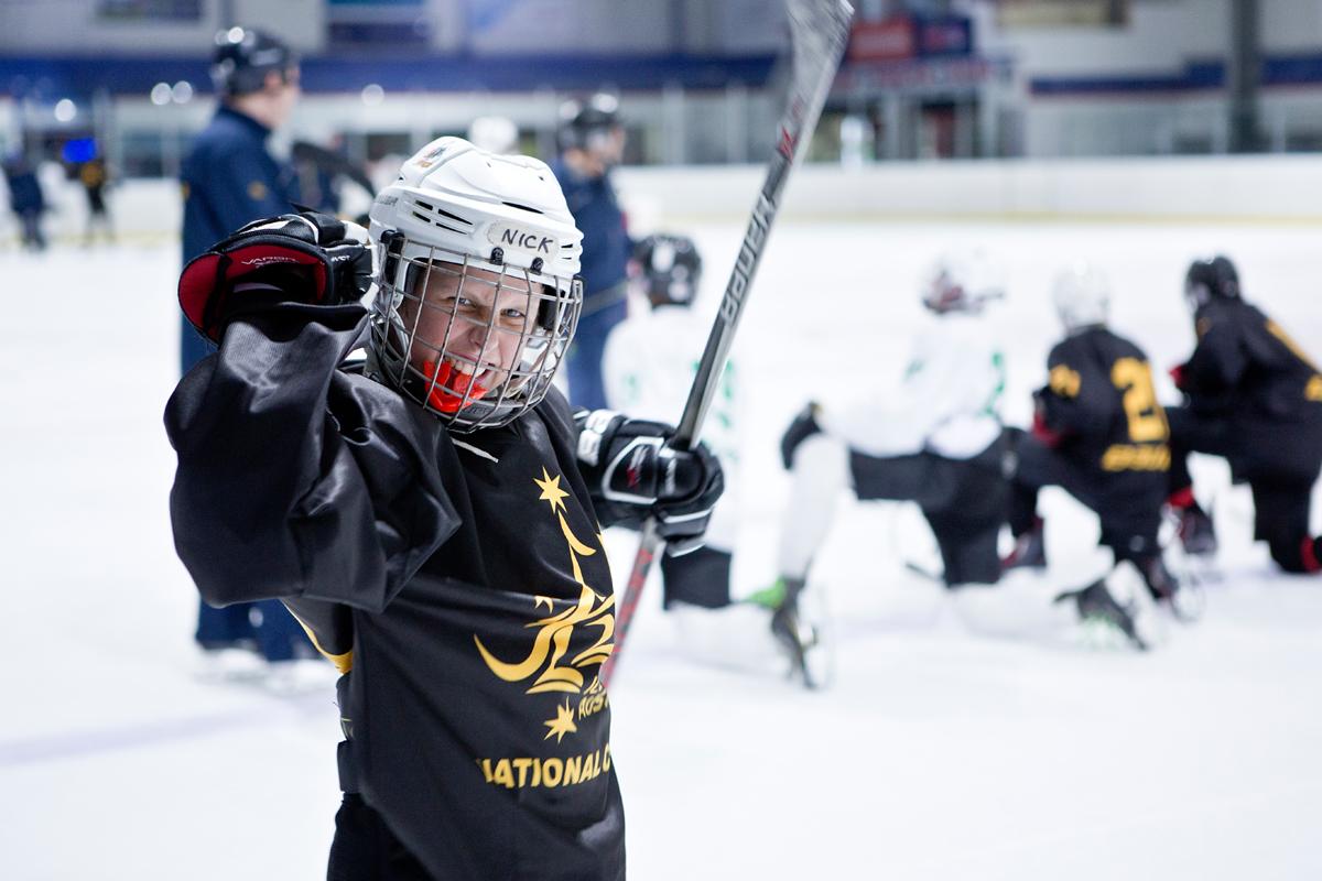 Ishockey for de minste